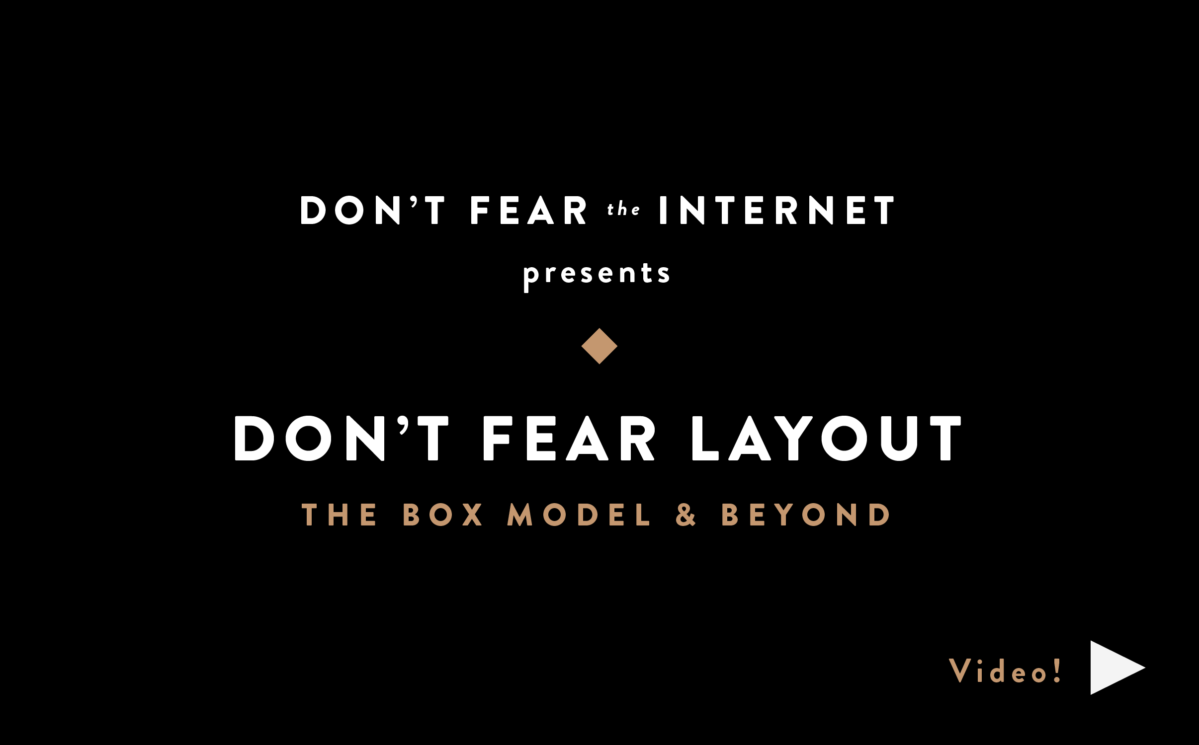 dont fear the internet
